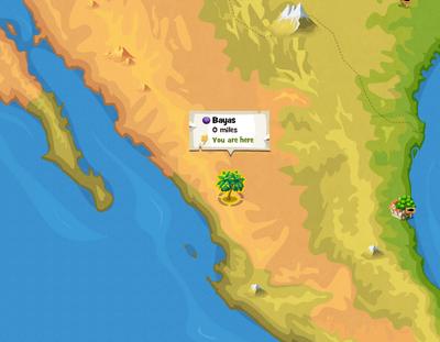 Bayas location