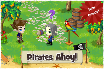 Pirates ahoy quests