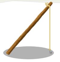 Rough Fishing Pole