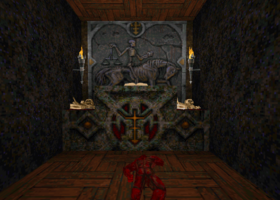 Hungbro altar