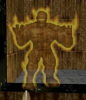 Ghost NitroGolem in-game.