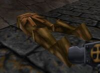 Bronze Golem Corpse