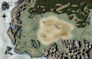 Carte Alagaesia