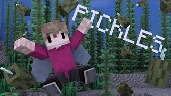 Pickles on the seafloor! Minecraft Animated Song-0