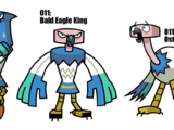 Eagle/Bald Eagle/Ostrich/Pterodactyl King/Phoenix