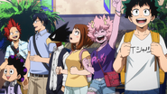 Class 1-A shopping for trip