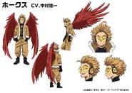 Keigo Takami Animation Design Sheet