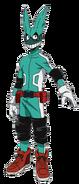 Izuku Midoriya First Hero Costume Full Body Anime