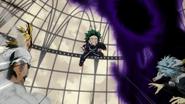 Izuku tries to save All Might
