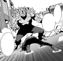 Akira Iwakou's Quirk