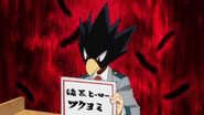 Tokoyami chooses hero name