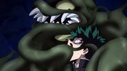 Sludge Villian attacks Izuku
