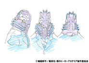 All For One Anime Concept Art 1