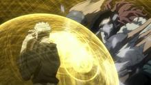 Rappa attacks Tengai (Anime)
