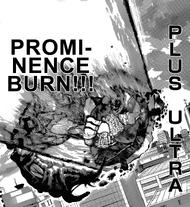 R190 Prominence Burn