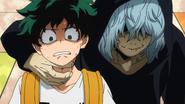 Tomura threatens Izuku