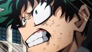 Izuku yells at Katsuki