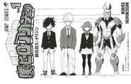 Izuku, Ochaco, Bakugo, & All Might Drafts