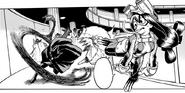 Tsu and Tokoyami vs Ectoplasm
