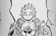 Hawks as a child