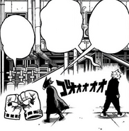 Rivalry between Fumikage and Shihai