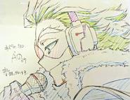 Hawks Original Animation Frame 2