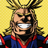 All Might Anime Portrait