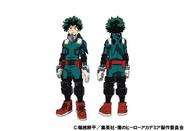 Izuku Midoriya 2nd Costume TV Animation Design Sheet