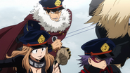 Shiketsu students prepare for the test