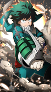 Izuku Midoriya Character Art 10 Smash Tap