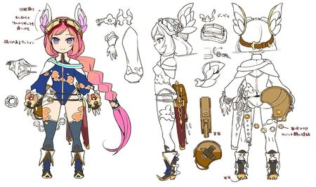 Quinn Bravesford Concept Art for Arc of Alchemist