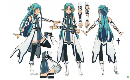 ALO Asuna Design Works II from Sword Art Online