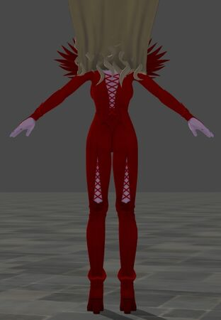 Krystalinda Red Body Suit for Dragon Quest XI Part 2