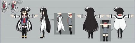 Faust Model Sheet for Trillion God of Destruction