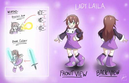 Lady Laila Concept Art
