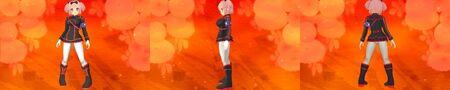 Hibari Ikaruga Outfit Black Version for Senran Kagura 2