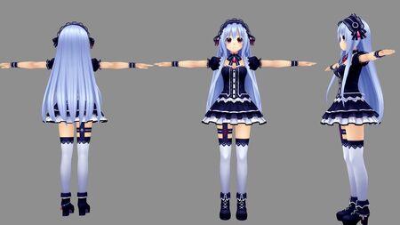 Tiara 3D Model For Fairy Fencer F