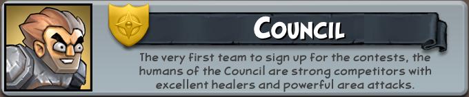 Council team