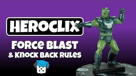 Heroclix Tutorial Force Blast & Knock Back Rules-0