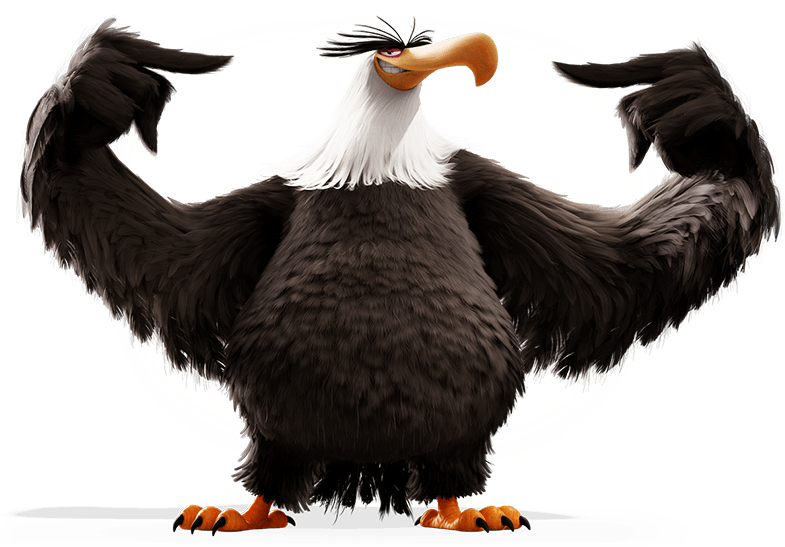 Mighty Eagle The Angry Birds Movie Heroes And Villians