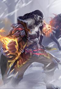 Hero-werewolf