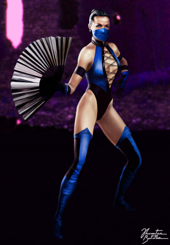 Kitana Mortal Kombat Karnage Heroes Fanon Wiki Fandom