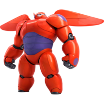 Baymax in Suit