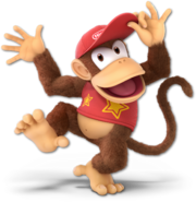 Art Diddy Kong Ultimate