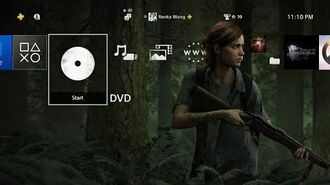 The Last of Us Part II Ellie Dynamic Theme PS4