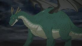 Tohrus dragon form