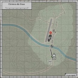 Chievres map