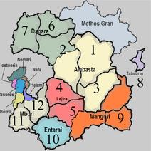 COG Region Map