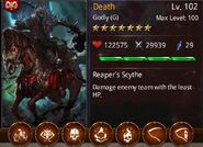 Death 7 card