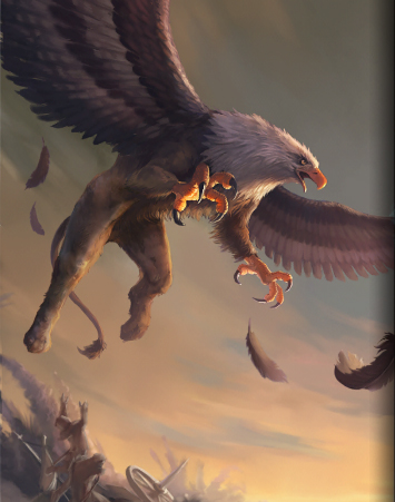 Gryphon heroes of camelot wiki fandom powered by wikia - A picture of a griffin the creature ...